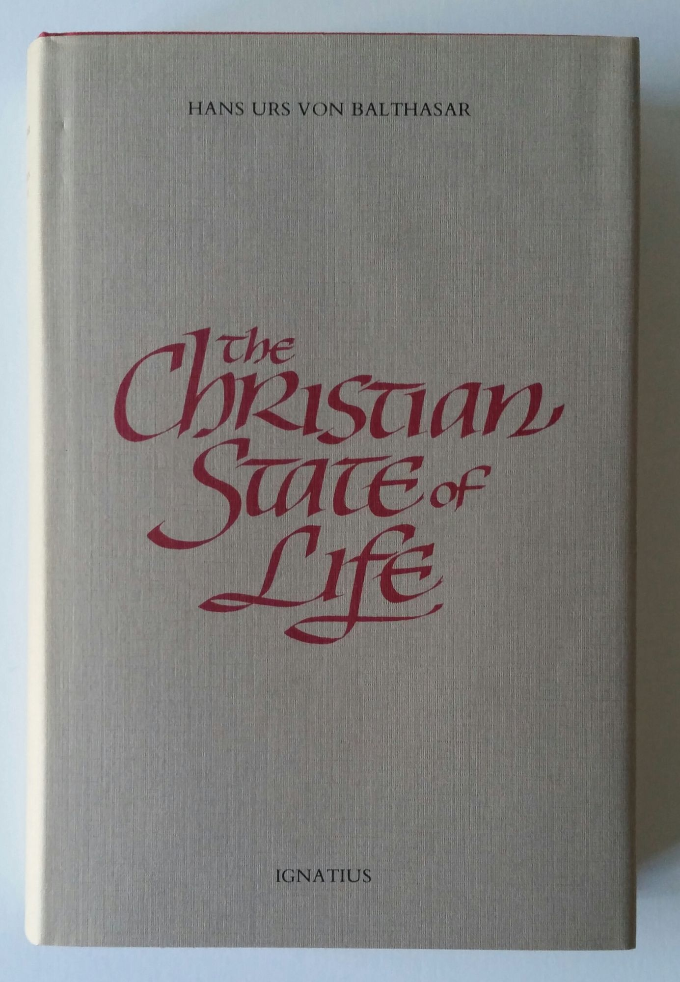 The Christian State of Life