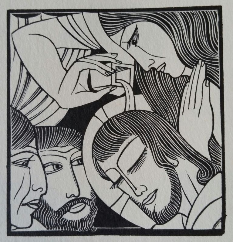 Passio Domini Nostri Jesu Christi; Being the 26th and 27th Chapters of Saint Matthew's Gospel from the Latin Text. Eric Gill.
