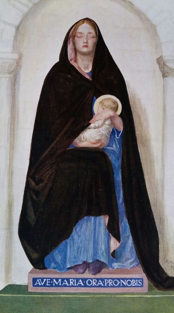 Mary, the Mother of Jesus; An Essay. Robert Anning Bell, Alice Meynell.