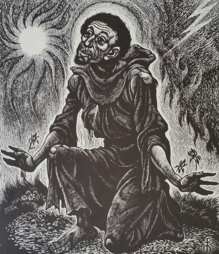 A Portfolio of Prints; A Collection of Twelve Prints Ready for Framing. Fritz Eichenberg.