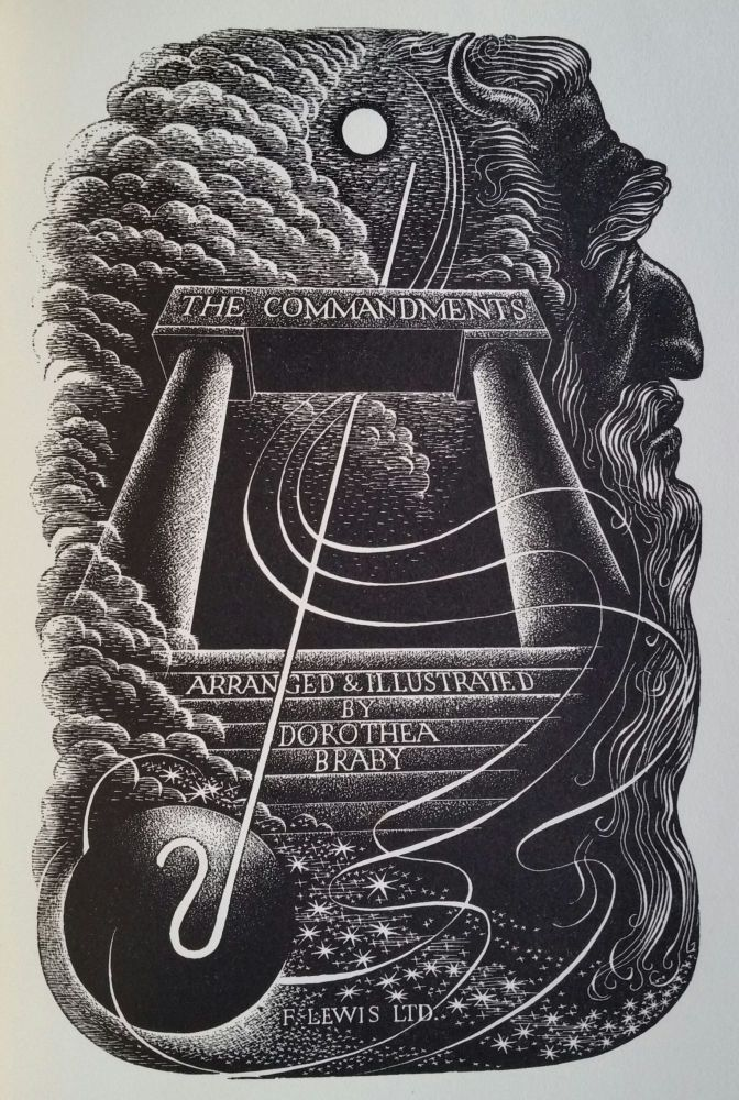 The Commandments. Illustrated, Dorothea Braby.