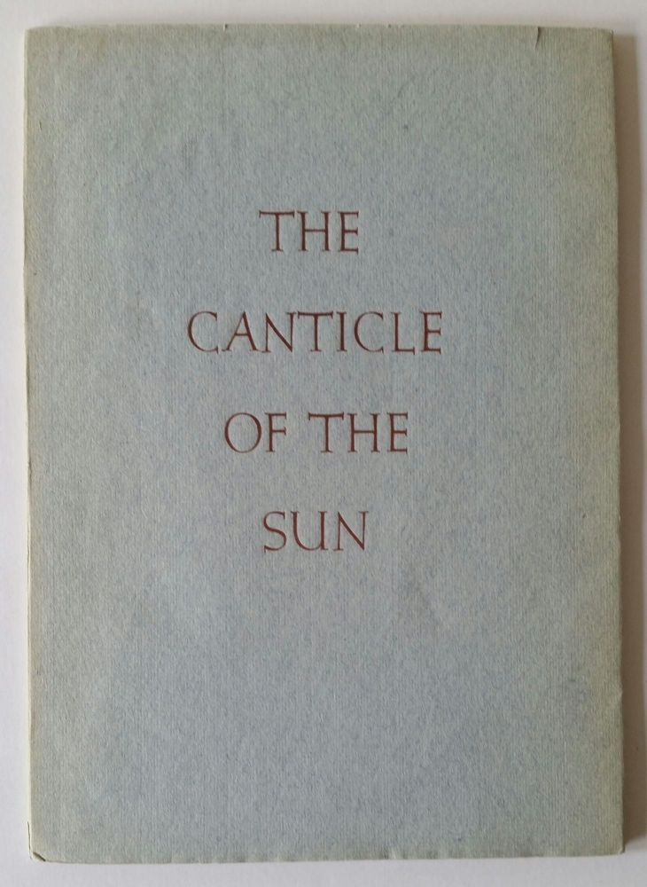 The Canticle of the Sun. Valenti Angelo.