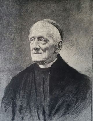 The Late Cardinal J. H. Newman, D. D.; Supplement to the Illustrated News of the World. Print,...