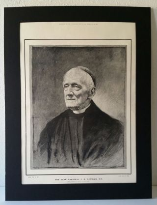 The Late Cardinal J. H. Newman, D. D.; Supplement to the Illustrated News of the World