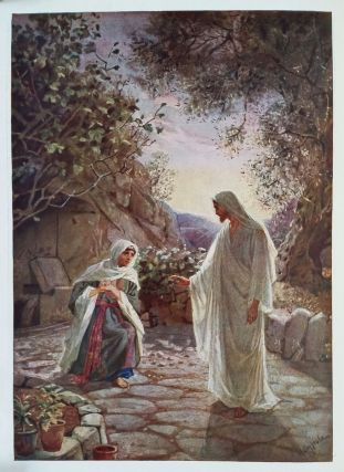 The Life of Jesus of Nazareth; Eighty Pictures by William Hole