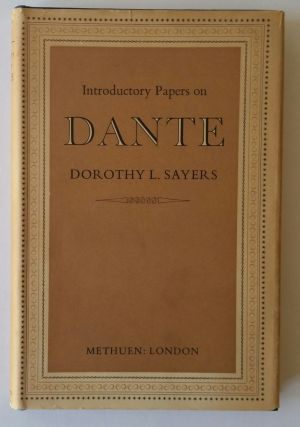 Introductory Papers on Dante. Dante, Dorothy L. Sayers.