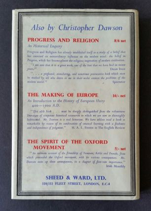 Religion and Culture; The Gifford Lectures of 1947
