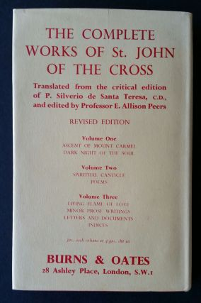 Medieval Mystical Tradition and Saint John of the Cross
