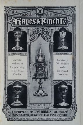 London Catholic Churches; A Historical & Artistic Record