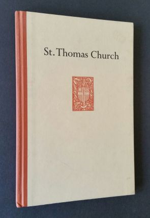 Saint Thomas Church. Architecture, Ralph Adams Cram, Bertram Grosvenor Goodhue
