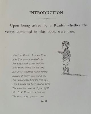 Cautionary Tales for Children; Designed for the Admonition of Children between the ages of eight and fourteen years