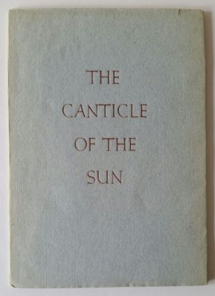 The Canticle of the Sun. Valenti Angelo