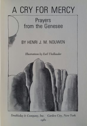 A Cry for Mercy; Prayers from the Genesee