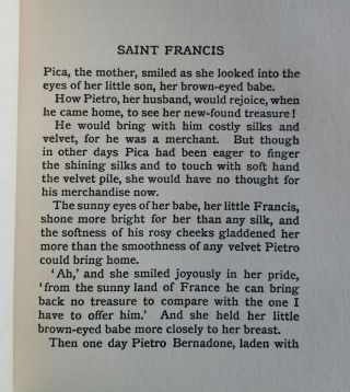 Stories of Three Saints Told to the Children by Mary Macgregor; With Pictures by Mrs. P.A. Traquair