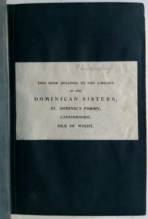 An Essay in Aid of a Grammar of Assent; By John Henry Newman, D.D. of the Oratory